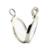 Grande Medalhão Flutuante Pingente e Colar 100% Authentic 925 Sterling Silver Fine Jewelry Frete Grátis