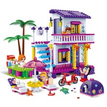 Street Architecture Inn Village House Family Home City Series Figures And Car Building Blocks Brick Compatible With Legoingly
