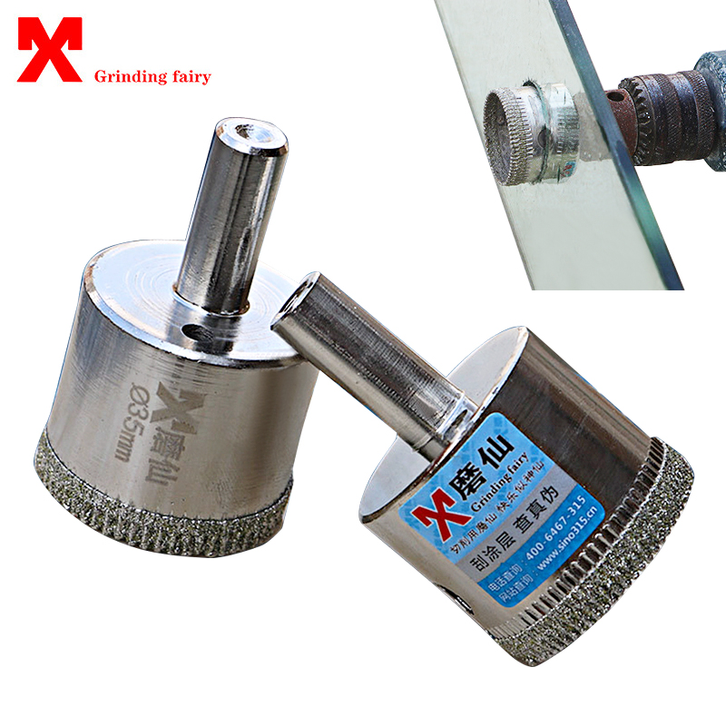 1pcs Diamond Drill Bit 6-100mm Hole Saw For Glass Marble Ceramic Tile Cutter Opener Masonry Drilling High Quality Core Drill Bit