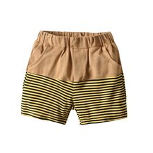 2019 Kids Summer Striped Short Pants Trousers Children Cotten Casual Pants for baby boys loose shorts 2 to 8 Years Old(China)