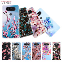 Bloom All Kinds Flowers Trend Silicone Phone Back Case For LG G4 G5 G6 G7 Q6 Q7 Q8 V10 V20 V30 V40 Gift Customized Cover