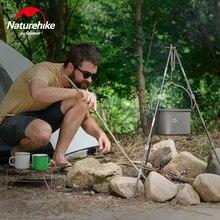 Naturehike 4-6 человек открытый кухонная утварь подвесной горшок штатив кронштейн 4L кухонная утварь для кемпинга пикника набор горшок NH17D021-G