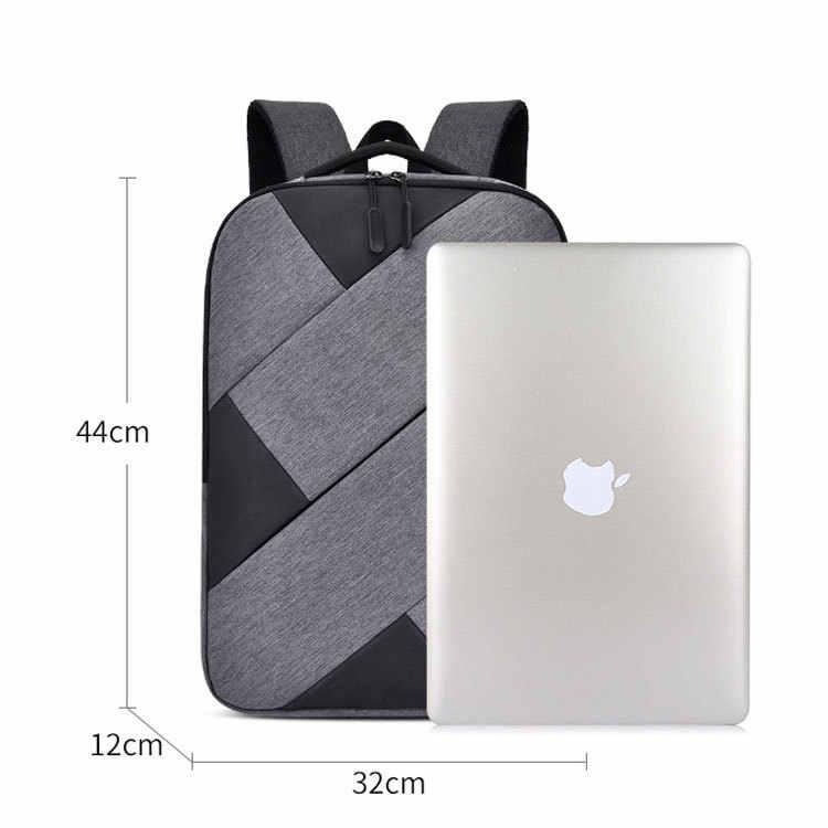 2019 Противоугонный рюкзак для ноутбука с паролем, мужская и женская школьная сумка, usb-зарядка, деловой рюкзак с отверстием для наушников, дорожная сумка