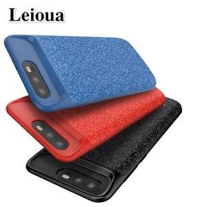 Leioua 5500 мАч чехол для аккумулятора Honor 8 9 10 Lite внешний зарядный чехол для Huawei P30 P20 Lite Pro Power Bank