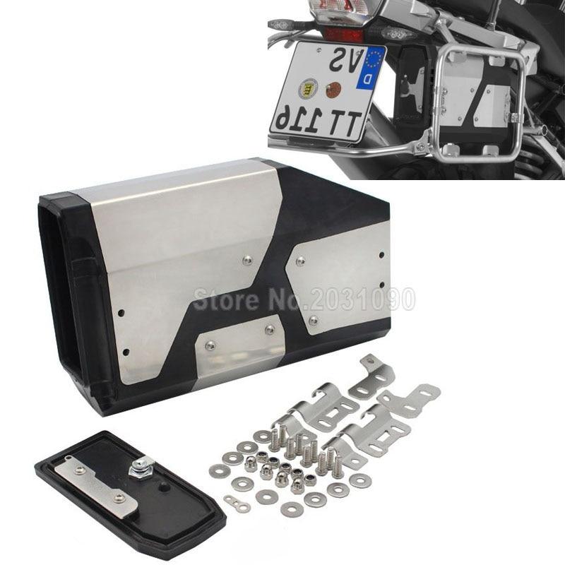 For BMW R1200GS LC Adventure R 1200 GS Tool Box 2013 2018 Decorative Aluminum Box Liters