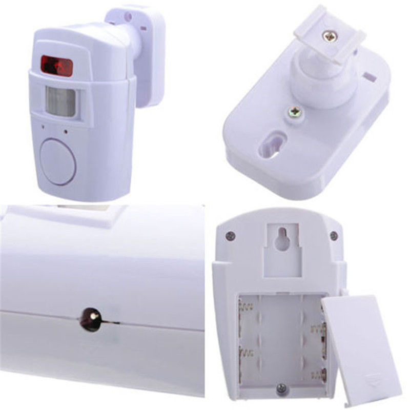 Wireless Motion Sensing Alarm Security Device With Remote Control For Garden Sheds Garage GY88