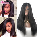 Unprocessed Full Lace Wigs 7A 4x4 Silk Top Human Hair Human Hair Full Lace Wigs Virgin Yaki Straight Full Lace Human Hair Wigs