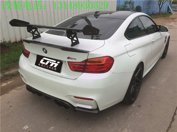 Fit for BMW M3 M4 GTS F80 F82 carbon fiber spoiler wing tail