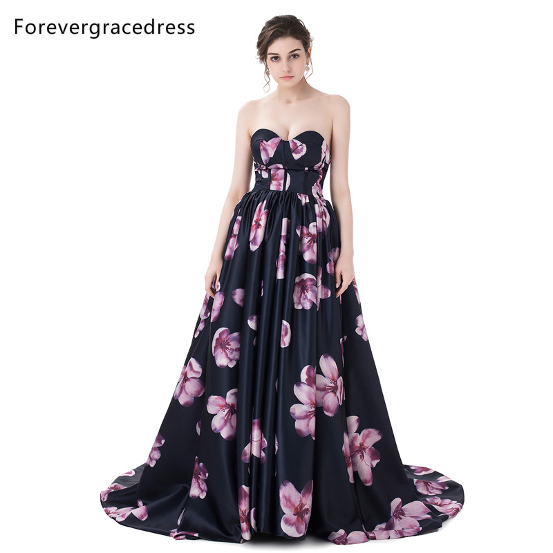 Forevergracedress Sexy   Prom     Dress   Colorful Sleeveless Pleats Long Formal Party Gown Plus Size Custom Made