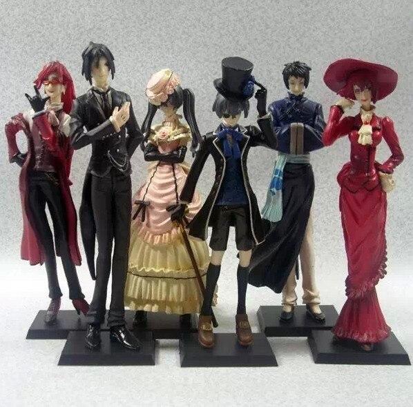 6pcs Pop Classic Anime Kuroshitsuji Black Butler Sebastian Ciel