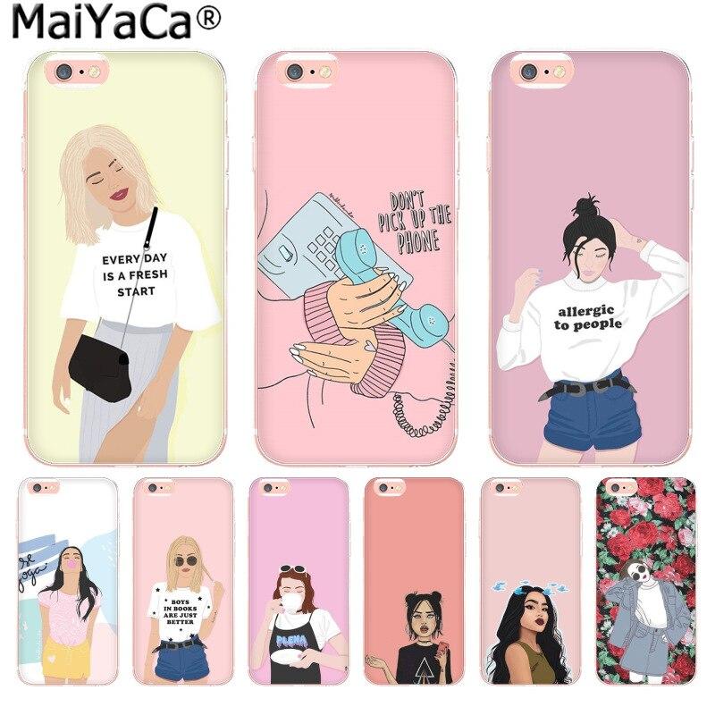 Aliexpress.com : Buy MaiYaCa Funny cartoon cute girl