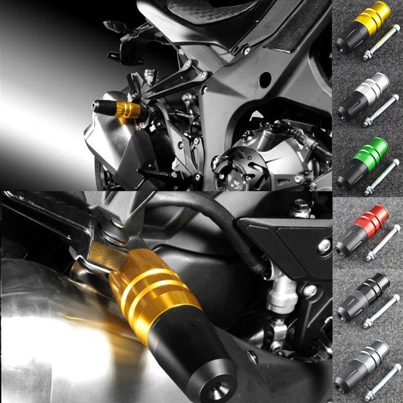 Crash Pads Exhaust Sliders Frame Protector For Kawasaki Z800 Z900 Z650 Z1000 Red