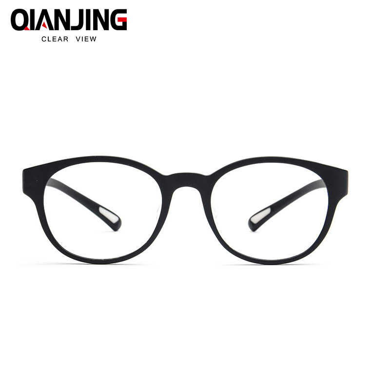 53fca72dc5c QJ Retro Round Eyeglasses Frame Brand For Women Fashion Men Optical eye  glasses Frame Eyewear Oculos
