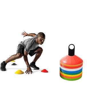 3e0fe64b лот 19 см Шишки Маркер Диски Тренировка по футболу спортивные  развлекательные аксессуары обучение конусы