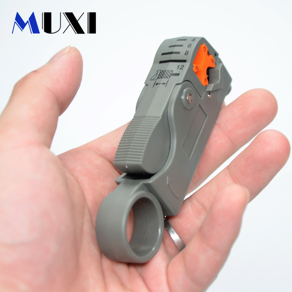 1Pc Coaxial Network Tool Wire Tool Cable Stripper Cable Clamp Wire Stripping Pliers Cable Stripper