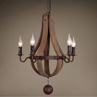 nordic design wood chandelier lighting lustre led suspension luminaire industrielle art deco chandeliers vintage home decor
