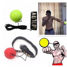 Boxing Reflex Speed Punch Ball MMA Sanda Boxer Raising Reaction Force Hand Eye Training Set Stress Muay Thai Exercise New