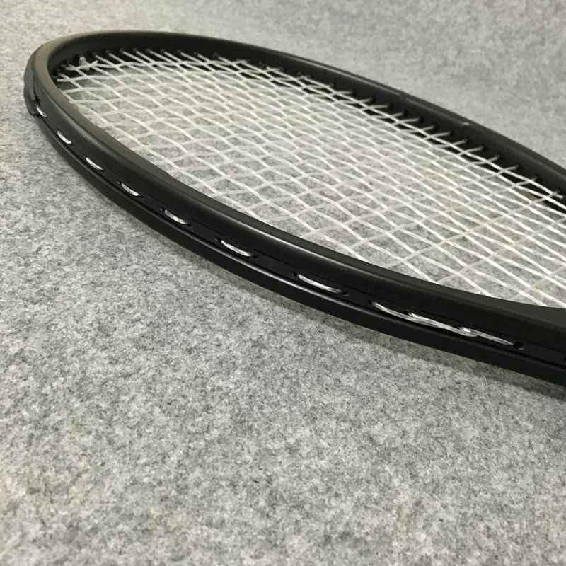 NEW customs 100% carbon fiber tennis racket Taiwan OEM quality tennis racquet 315g Federer black racket