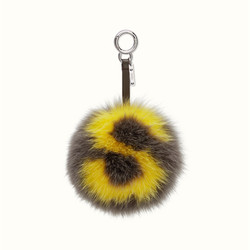 The new custom letter fox fur ball with paragraph 15 cm ultra small monster imported fox.jpg 250x250