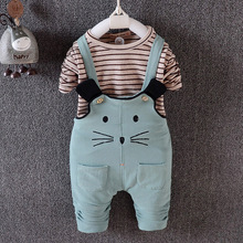 In the autumn of 2016 baby han edition cotton straps trouser suit