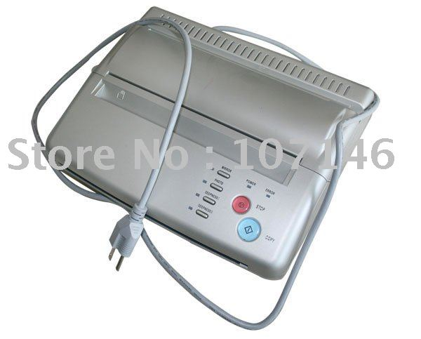 Tattoo White Themrmal Copier Machine Top Stencil Maker Machine