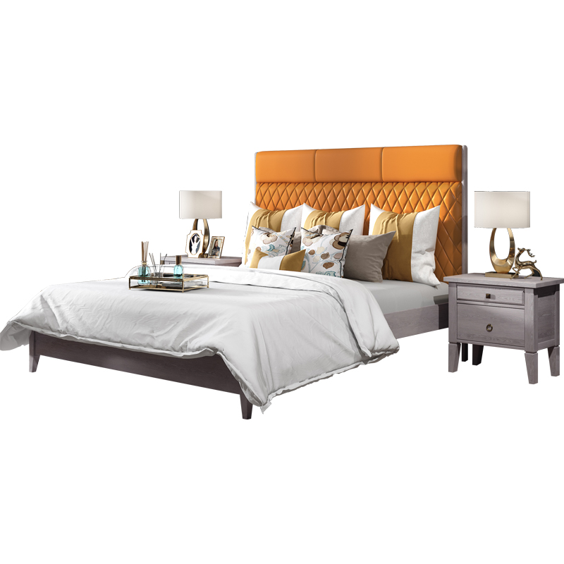 US $822.0 |direct from china furniture manufacturers usa soft bed double  bed modern soft-in Bedroom Sets from Furniture on AliExpress - 11.11_Double  ...