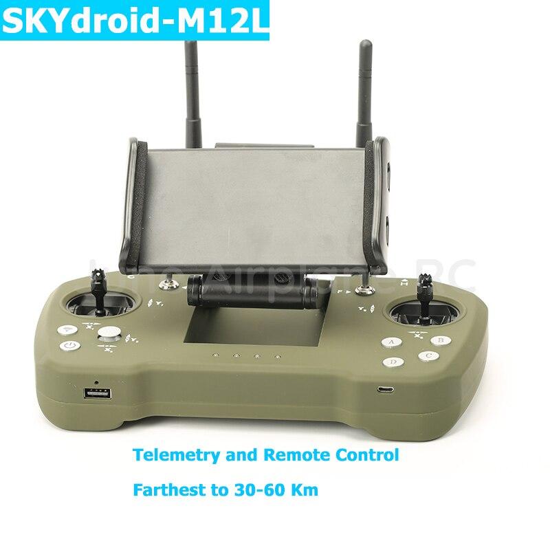 Skydroid M12L Link de Dados Downlink de Vídeo Digital de Controle Remoto Sem Fio para UAV Avião Robô Planta da estação Repetidora