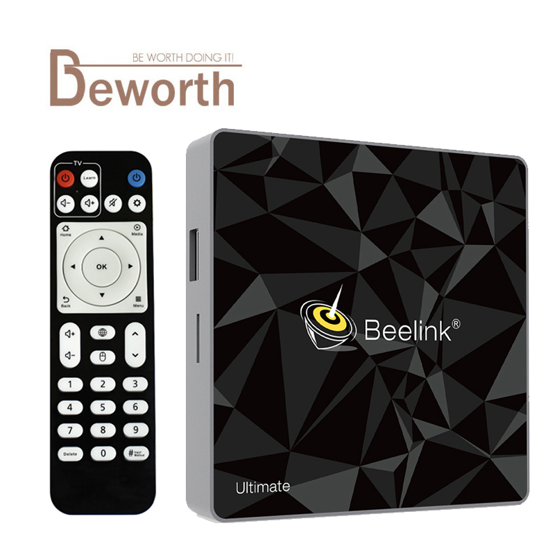 Beelink GT1 Ultima TV Box 3g DDR4 32g Amlogic S912 Octa Core 2.4/5.8 ghz Dual WiFi android 7.1 set Top Box Smart Media Player