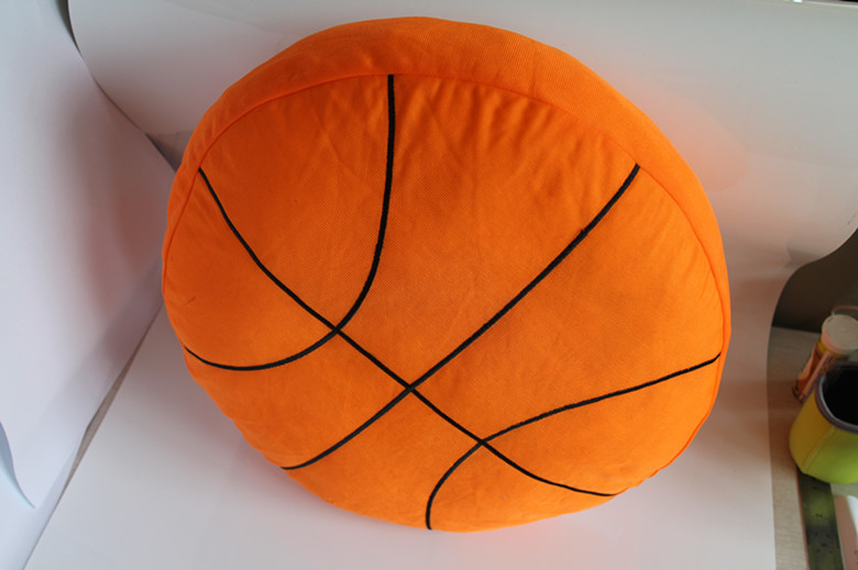 Free Shipping Novelty Gift Basketball Baseball Rugby Football Soccer Ball Home Bar Cafe Decorative Plush Cushion Pillow Toy