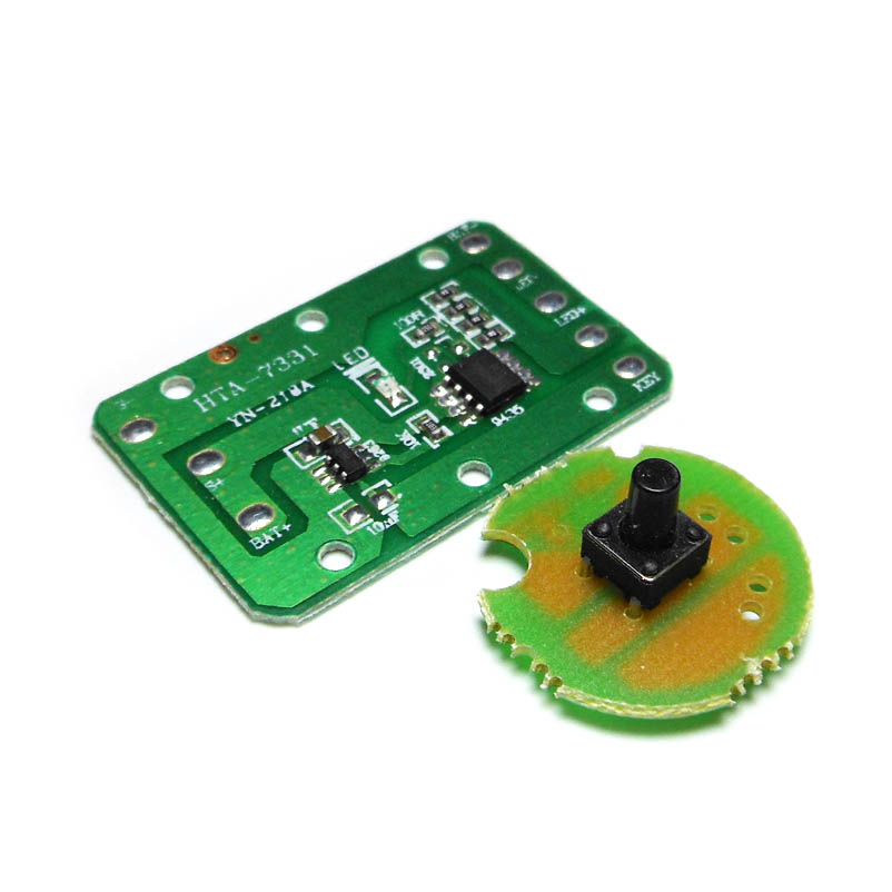 T6 Q5 General High-power LED Headlamp DIY Circuit Board Fishing Lamp Drive Plate / Switch Portable Lighting Accessories