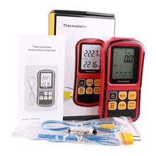 Termopar Termómetro Digital-50 ~ 300 Grado Industrial Medidor de Temperatura Termopar Tipo J K T E N I S Tester de temperatura
