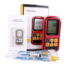 Digital Thermocouple Thermometer -50~300 Degree Industrial Temperature Meter J K T E N R S Type Thermocouple Temperature Tester