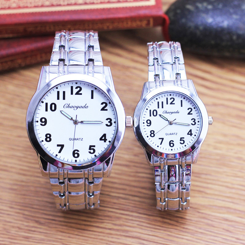 2018 Cyd Famous Men Women Couples Lovers Mother Father Gifts Quartz Wristwatches Luminous Hands Stainless Steel Watch Religious