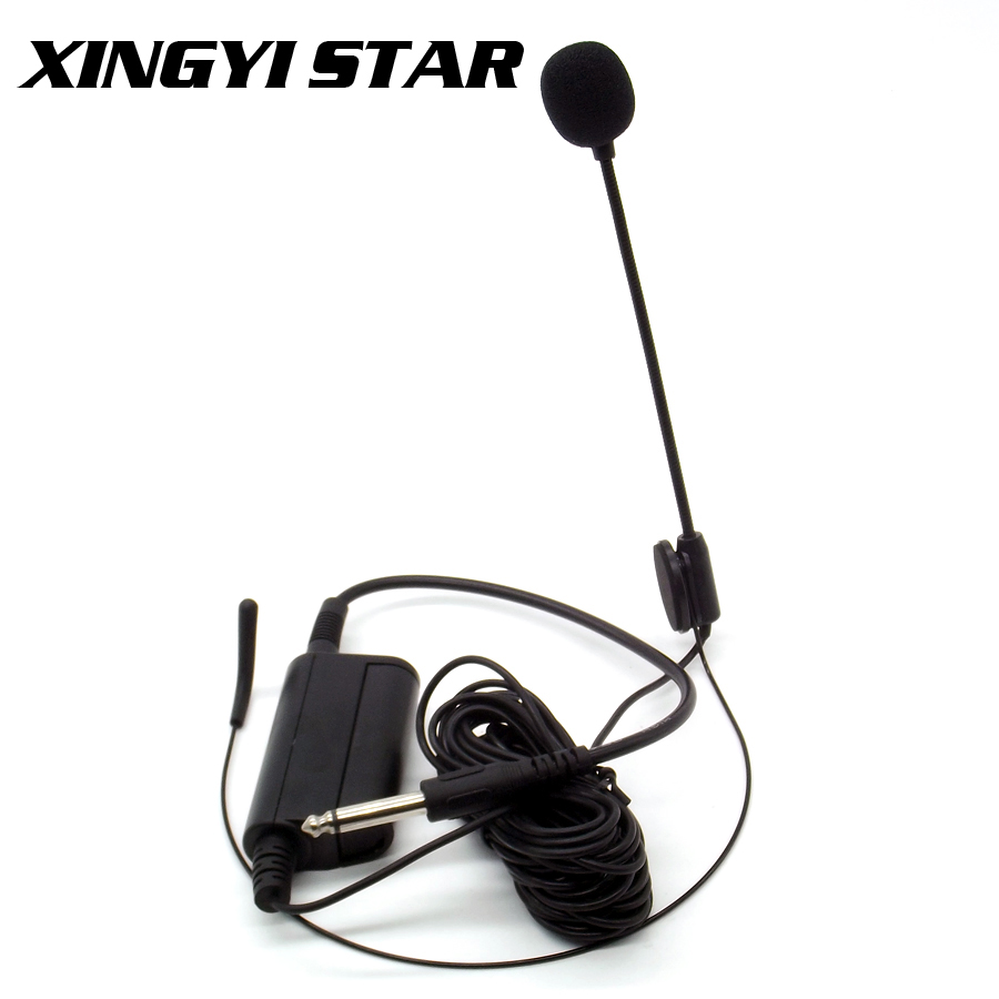 professional musical instruments headworn condenser headset microphone head headband mic for. Black Bedroom Furniture Sets. Home Design Ideas