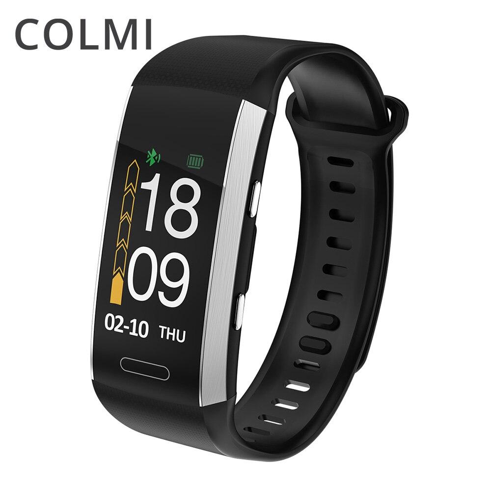 COLMI gps Фитнес трекер IP67 Водонепроницаемый Smart band альтиметр барометр термометр несколько спортивный режим Smart Браслет