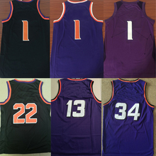 Cidade dos homens edição basquetebol jerseys Devin Booker Deandre Ayton  Charles Barkley Steve Nash jersey para b41fbb7ca