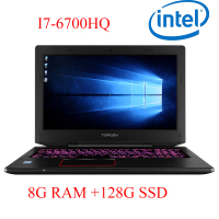 P6 01 8G DDR4 RAM 128G SSD i7 6700HQ AMD Radeon RX560 NVIDIA GeForce GTX 1060 4GB 15.6 gaming laptop