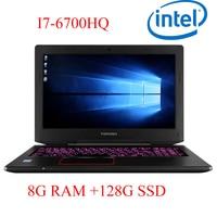 P6 01 8G DDR4 RAM 128G SSD i7 6700HQ AMD Radeon RX560 NVIDIA GeForce GTX 1060 4GB 15.6 gaming laptop