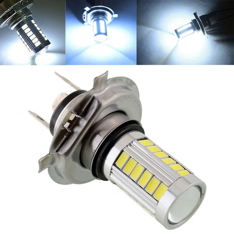 1 St H4 Hb2 9003 33-led 33 Smd 5630 High Power Wit 12 V Auto Vervanging Mist Lampen Hi/lo Beam En Enkele