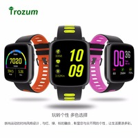 GV68 Activity Tracker Waterproof IP68 Bluetooth Smart Bracelet Heart Rate Monitor Fitness Watch For IPhone Android