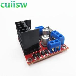 Image 2 - 10pcs/lot New Dual H Bridge DC Stepper Motor Drive Controller Board Module L298N for arduino