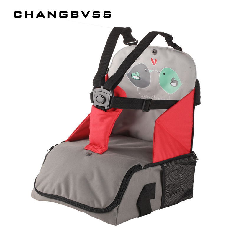 Children's Dining Chair Bag For The Safe Storage Of Kid Dining Chair Bag Children's Portable Seat Fashionable Baby Seat Cushion. the silver chair