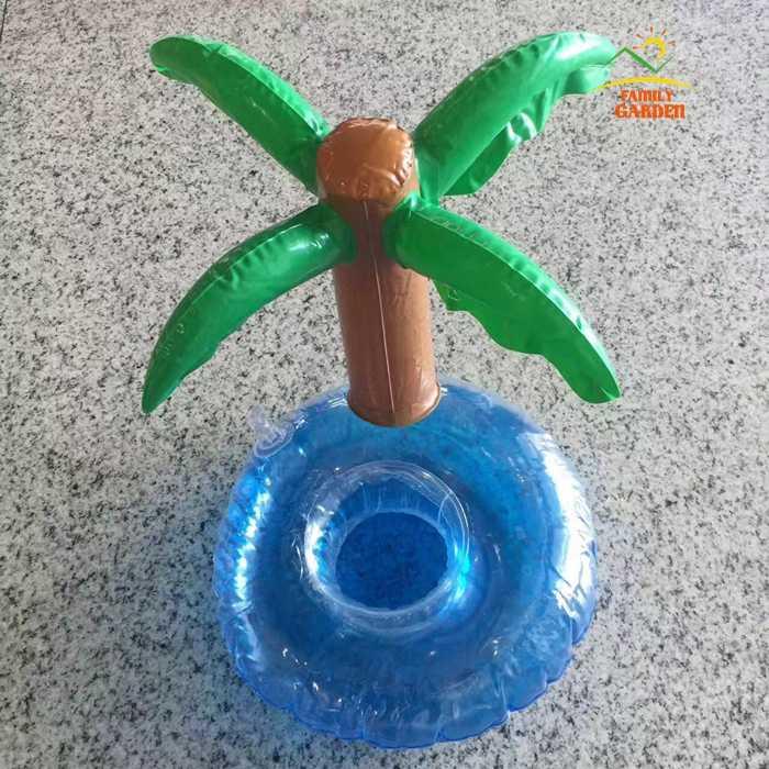 15 шт. единорог; Фламинго пальмовое дерево Надувной Держатель Для банки напиток Плавающие вечерние напитки лодки бассейн Гавайи пляжные вечерние принадлежности