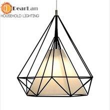 Американские старинные флягодержатель подвесные светильники металлический вольфрама лампочку промышленности подвесные светильники хром цвет