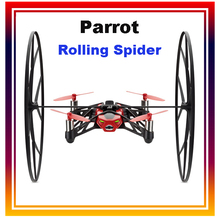 Hot Sale Parrot Rolling Spider Mini WIFI RC Quadcopter Drone 4CH 6 Axis Gyro Controlled By iPhone / iPad Android Free Shipping