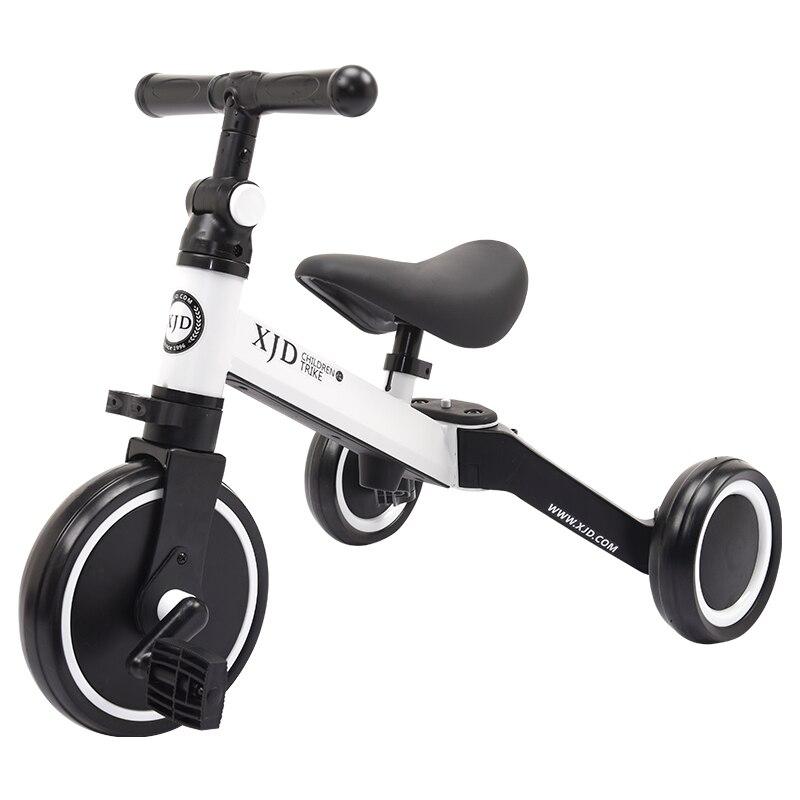 Livraison gratuite 2 en 1 pliant bébé scooter bébé balance vélo enfants vélo pour 2-5 ans bébé multifonctionnel tricycle vélo