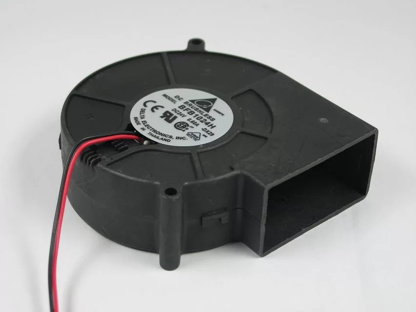 купить  Free Shipping For Delta BFB1024H -DX29 DC 24V 0.60A 2-wire 2-pin connector 80mm 97X97X33mm Server Blower Cooling fan  онлайн