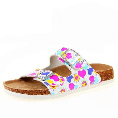 28 farb neue sommer strand valentine kork hausschuhe sandalen casual ...