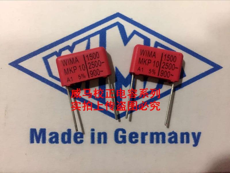 WIMA 0.15UF 400V 154 AUDIO Polyester Film Capacitors Kondensator 10 pcs