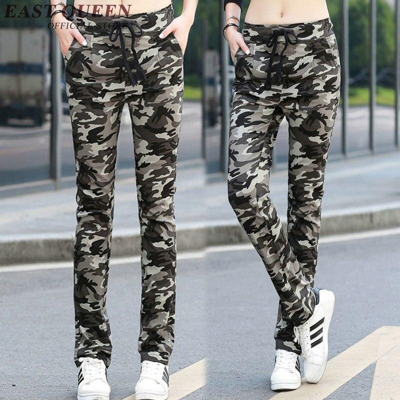 Para Sexy 1 Pantalones Primavera Mujeres Kk159 Militar Mujer Camuflaje De 2 Moda 0SaqwT